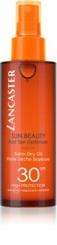 Lancaster Sun Beauty suho olje za sončenje v pršilu SPF 30