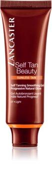 Lancaster Self Tan Beauty bőrkisimító önbarnító gél az arcra