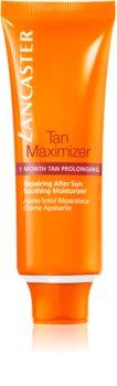 Lancaster Tan Maximizer Kalmerende Hydraterende Crème voor Langereaanhouding van Bruining  voor het Gezicht