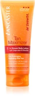Lancaster Tan Maximizer testápoló zuhanyozó tej a barnaság megőrzéséért