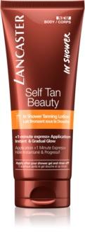 Lancaster Self Tan Beauty samoopaľovacie telové mlieko do sprchy pre postupné opálenie
