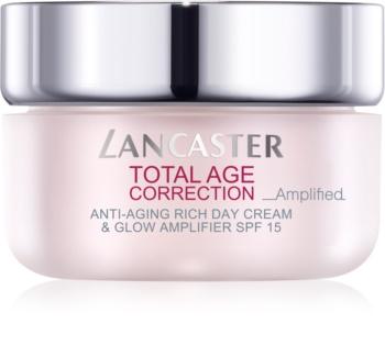 Lancaster Total Age Correction _Amplified hranilna krema proti gubam za osvetlitev kože