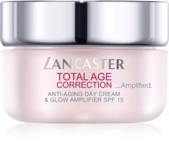 Lancaster Total Age Correction _Amplified denní protivráskový krém pro rozjasnění pleti