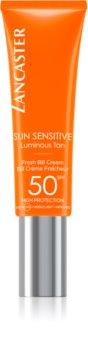 Lancaster Sun Sensitive crema BB cu protectie ridicata si filtru UV pentru piele sensibila
