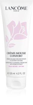 Lancôme Crème-Mousse Confort zklidňující čisticí pěna pro suchou pleť