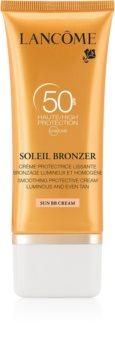Lancôme Soleil Bronzer creme solar facial SPF 50