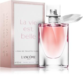 3c330d1bd Lancôme La Vie Est Belle Florale eau de toilette para mulheres 50 ml