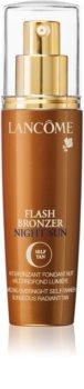 Lancôme Flash Bronzer Night Sun hydratační krém na obličej pro postupné opálení