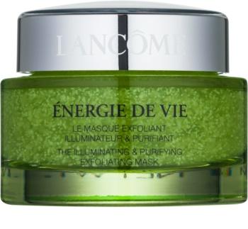 Lancôme Énergie De Vie maseczka oczyszczająco - złuszczająca do wszystkich rodzajów skóry, też wrażliwej