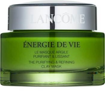 Lancôme Énergie De Vie čisticí maska s jílem