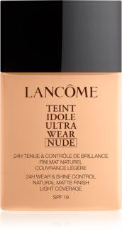 Lancôme Teint Idole Ultra Wear Nude matificante leve de maquilhagem
