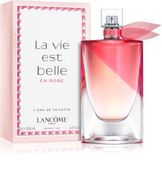 01c30782e90 Lancôme La Vie Est Belle En Rose eau de toilette para mulheres 100 ml