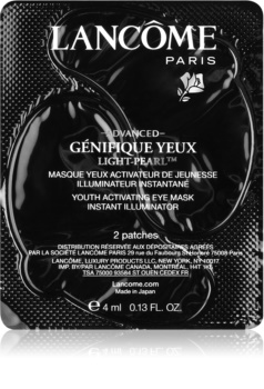Lancôme Génifique Advanced Yeux Light-Pearl™ očná maska vo forme náplasti na omladenie pleti
