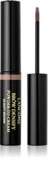 Lancôme Brôw Densify Powder-to-Cream pó colorido cremoso para sobrancelhas