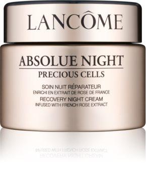 Lancôme Absolue Night Precious Cells noční regenerační a protivráskový krém pro suchou pleť
