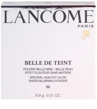 Lancôme Belle De Teint Illuminating Powder for a Matte Look