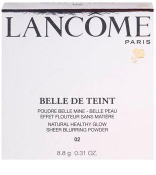 Lancôme Belle De Teint puder za osvetljevanje za mat videz