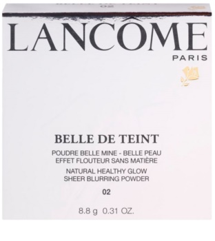 Lancôme Belle De Teint rozjasňující pudr pro matný vzhled
