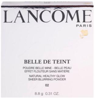 Lancôme Belle de Teint сяюча пудра  з матуючим ефектом