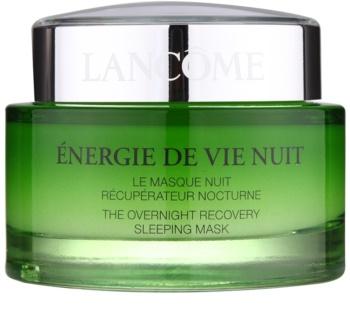 Lancôme Énergie de Vie nočna obnovitvena maska za utrujeno kožo