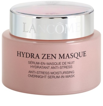 Lancôme Hydra Zen masca de noapte hidratanta anti stres cu efect de ser