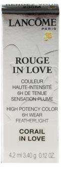 Lancôme Rouge in Love Lipstick