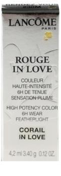 Lancôme Rouge in Love rtěnka