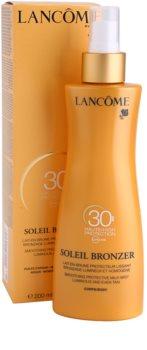 Lancôme Soleil Bronzer Suntan Milk SPF30