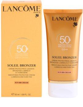Lancôme Soleil Bronzer crema de soare pentru fata SPF 50