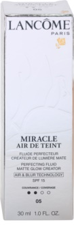 Lancôme Miracle Air De Teint ультра легкий тональний крем для природнього вигляду