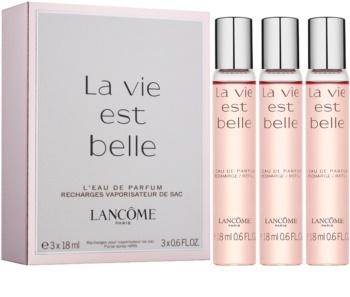 Lancôme La Vie Est Belle woda perfumowana dla kobiet 3 x 18 ml (3 x napełnienie)