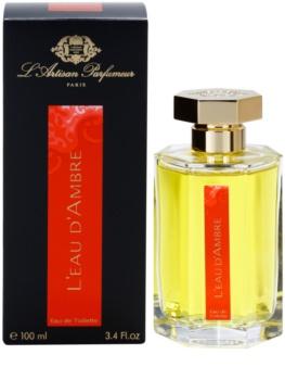 L'Artisan Parfumeur L'Eau d'Ambre toaletná voda pre ženy 100 ml