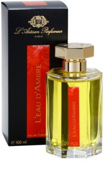 L'Artisan Parfumeur L'Eau d'Ambre eau de toilette pour femme 100 ml