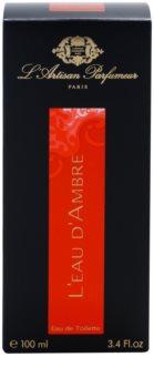 L'Artisan Parfumeur L'Eau d'Ambre Eau de Toillete για γυναίκες 100 μλ
