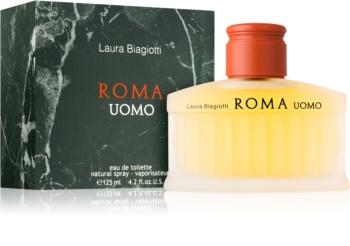 Laura Biagiotti Roma Uomo Eau de Toilette para homens 125 ml