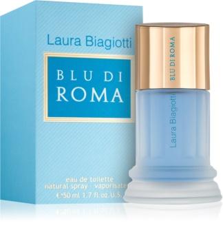 Laura Biagiotti Blu Di Roma Eau de Toilette voor Vrouwen  50 ml