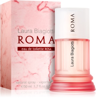 Laura Biagiotti Roma Rosa Eau de Toilette Damen 50 ml