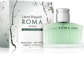 Laura Biagiotti Roma Uomo Cedro toaletna voda za moške 40 ml