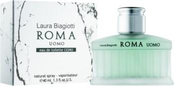 Laura Biagiotti Roma Uomo Cedro Eau de Toilette for Men 40 ml