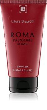 Laura Biagiotti Roma Passione Uomo sprchový gél pre mužov 150 ml