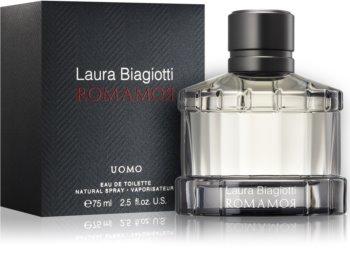 Laura Biagiotti Romamor Uomo toaletní voda pro muže 75 ml