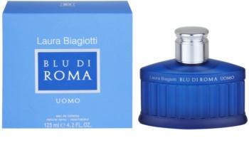 Laura Biagiotti Blu Di Roma UOMO Eau de Toilette voor Mannen 125 ml