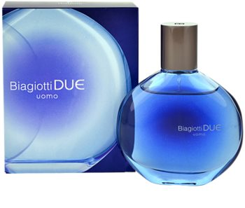 Laura Biagiotti Due Uomo Aftershave Water With Atomizer for Men