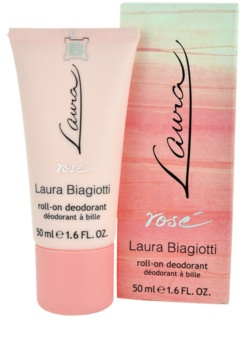 Laura Biagiotti Laura Rosé déodorant roll-on pour femme 50 ml