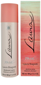 Laura Biagiotti Laura Rosé deodorant Spray para mulheres 150 ml