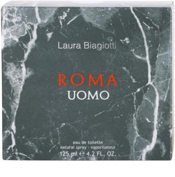 Laura Biagiotti Roma Uomo туалетна вода тестер для чоловіків 125 мл
