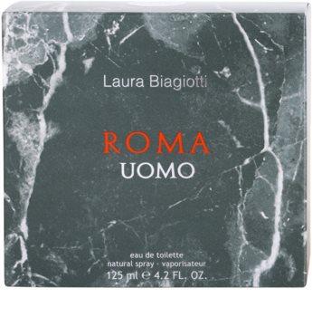 Laura Biagiotti Roma Uomo woda toaletowa tester dla mężczyzn 125 ml