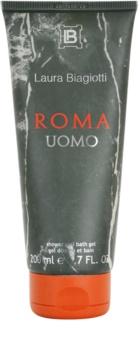 Laura Biagiotti Roma Uomo sprchový gél pre mužov 200 ml