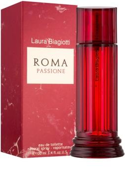 Laura Biagiotti Roma Passione Eau de Toilette für Damen 100 ml