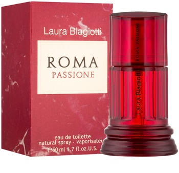 Laura Biagiotti Roma Passione Eau de Toilette für Damen 50 ml